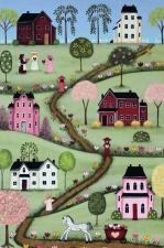VALEVILL Valentine's Day Village