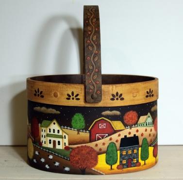 Fall Bentwood Basket