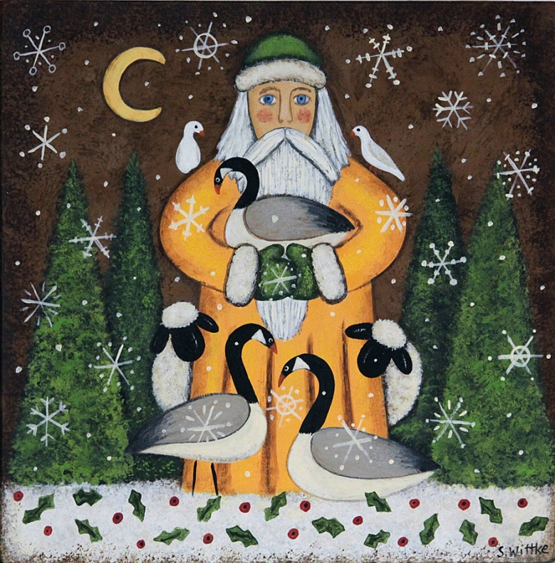 Santa's Geese
